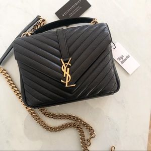 Yves Saint Laurent Medium College Bag Crossbody